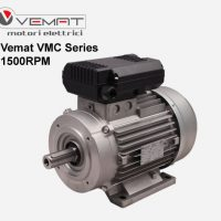 الکتروموتور تک فاز vemat vmc 1.5kw 1500rpm