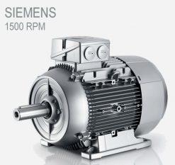 الکتروموتور siemens 110kw 1500rpm سه فاز