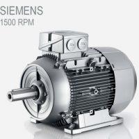 الکتروموتور siemens 0.75kw 1500rpm سه فاز